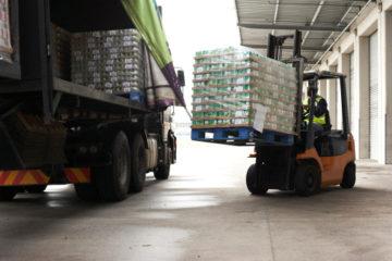 Transporte de cargas lotação